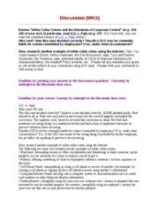 Enron and arthur andersen case study