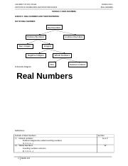 M1.REAL NUMBERS
