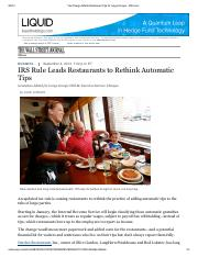 WSJ(4Sep2013)Tax Change Affects Restaurant Tips for Large Groups.pdf