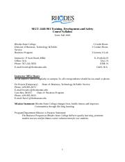 MGT 2440-901 FA 18 Syllabus Train, Dev & Safe-3 (2).docx