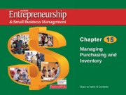 entrepreneurship and small business management chapter15