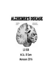 Alzheimer's disease UCSY PPT.pdf