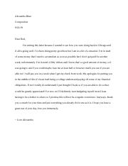 Composition Letter Emotional Appeals
