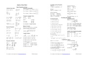 Algebra_Cheat_Sheet_Reduced