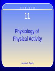 Chapter 11 - Physiology