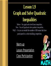 1.9_Graph_and_Solve_Quadratic_Inequalities.pptx
