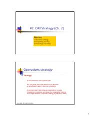 MGMT355-2-Operations strategy