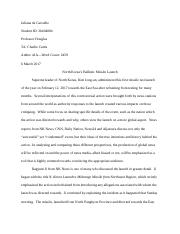 Anthro 41A-International Issues Paper