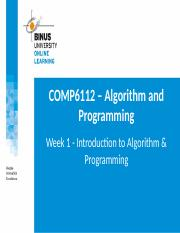 2016082013054300012261_PPT1_COMP6112_Introduction to Algorithm _ Programming_R0.pptx