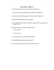 333 Study Questions_2 Nephi 17-24