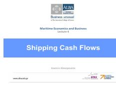 L4 - Shipping Cash Flows