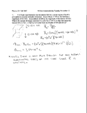 Written Homework 12 Solutions
