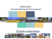 Exam Overview TREN 2P94 04 Nov 2013