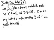 Lecture 9 on Join Distributions