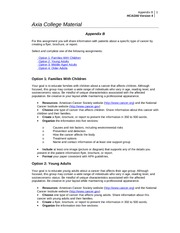 hca 240 final project disease trends and the delivery of health care services Complete the final project preview worksheet in appendix b using the notes you have taken from class discussion and assigned readings concerning your topic.