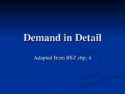Session _5 Demand in Detail