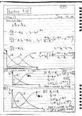 Lecture 9.18 Notes