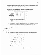 CHEM 40 Spring 2014 Exam 1 Solutions
