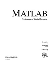 Mathworks - Manual Matlab 6.0