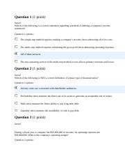 HOMEWORK 2.docx - Question 1(1 point Saved Which of the ...