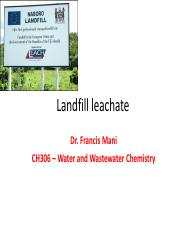 lectures on Landfill Treatment.pdf