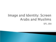 10 Arab Image and Identity w Quiz