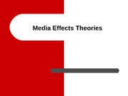 Media Effects 11-28