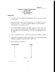 Federal Trademark and Copyright Registration Practice_Final Exam 10