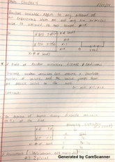 Higher probability standard notes