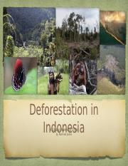 Deforestation in Indonesia-Rachael Jones.pptx