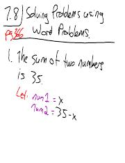 02 Solving word problems part 1