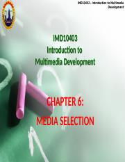 IMDChapter6-media selection