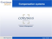 5HRM Compensation systems MBA 2014