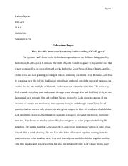 Colossians Paper