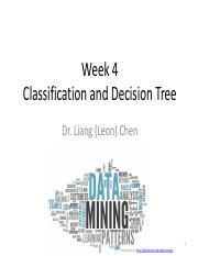 Week 4 Classification and Decision Tree (1)