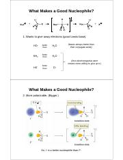 7_8 what makes a good nucleophile