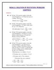 Ch5-NGN111  SOLUTION OF RECITATION