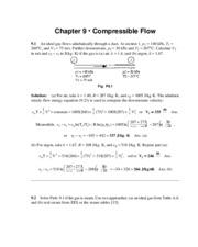 185817224 7echapter9smfinal newfrank white fluid mechanics 7th ed ch rh coursehero com fluid mechanics frank white solution manual pdf fluid mechanics frank white 8th edition solution manual pdf