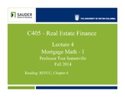 C405f14-Lec4-MortgMathInterest Rates.student