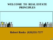 1 Introduction To Real Estate
