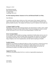 Business Writing Letter