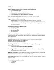 PSY342 Study Guide 1
