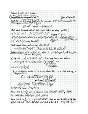 Exam 6 solution on Differential equations