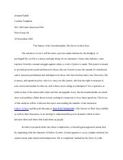 SPA494 Short Essay 4.docx