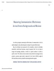 4 Measuring Communication Effectiveness Across Diverse Backgrounds and Missions _ Strategies to Enha