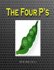 02 - The 4 P's and Management Structure.ppt