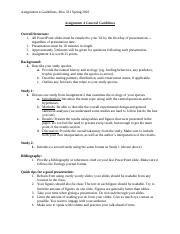Bios 331 Assignment 4 General Guidelines.docx