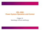 lecture16- Interchange of power and energy