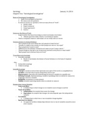 Sociology (Chapter 2 - Notes).docx