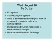 lec 2 Human Responses to Enviro Change